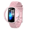 E99 Smart Watch Bracelet Women Waterproof Heart Rate Monitoring Bluetooth Band For Android IOS Fitness Bracelet Smartwatch (Pink)