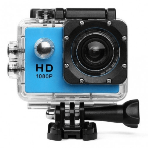 Sports Camera SDV4, Water Resistant H.264 1080P Sport Camcorder full HD, Blue, OEM