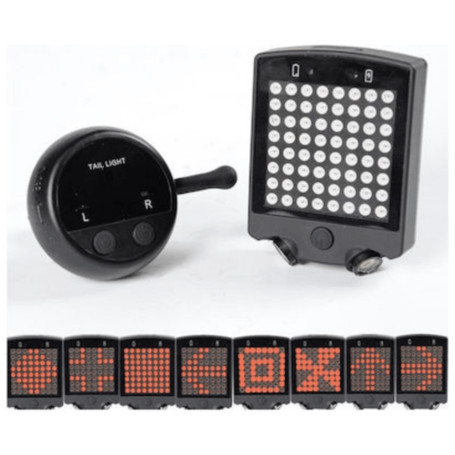 64 LED Wireless Remote Laser Bicycle Rear Tail Light With Turn Signals - OEM - Wireless bicycle turn light