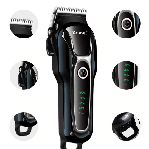 KEMEI KM-1991 Professional Clipper Pet Dog Hair Trimmer Grooming Rechargeable Powerful Shaver Haircut Machine