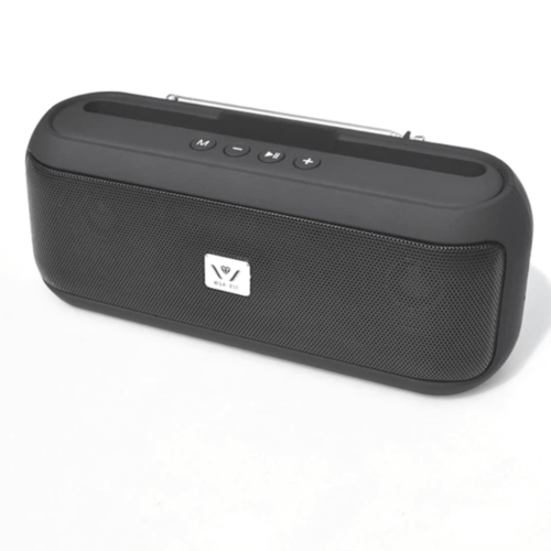 Portable Bluetooth Speaker WSA-850, with TFUSBFMHandsfreeMobile Holder - Black