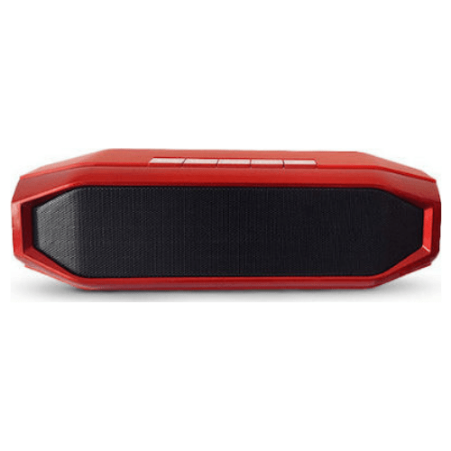 Tws Bluetooth Speaker WSA-839, with TF/USB/FM/Aux/Handsfree -Red