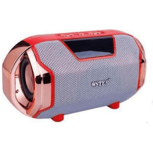 WSTER WS-1833 high sound quality Bluetooth speaker -Red