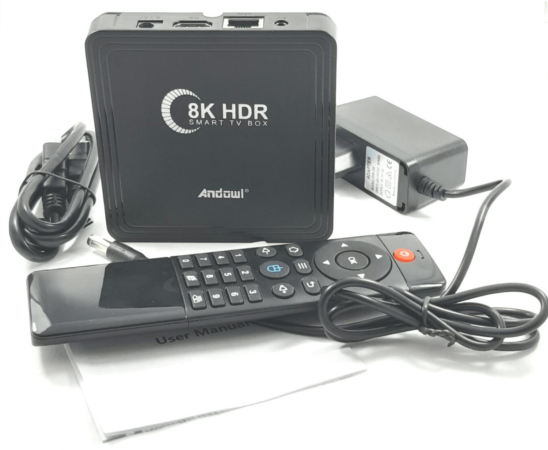 Gadget mou TV BOX Q8K