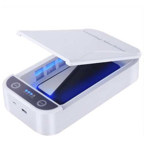 UV Sterilizer Phone Disinfection Box Sterilizer for Mobiles, Jewelry, etc. – OEM – White