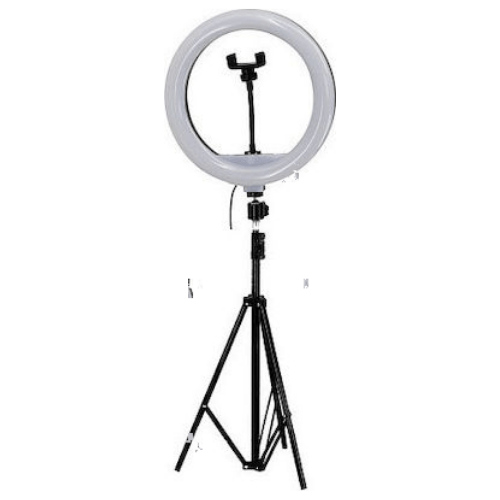 YQ-320B Selfie Ring 12 Photography Led Selfie Ring Light 30cm Photo Lamp with Phone Holder for Youtube Live and Makeup Studio