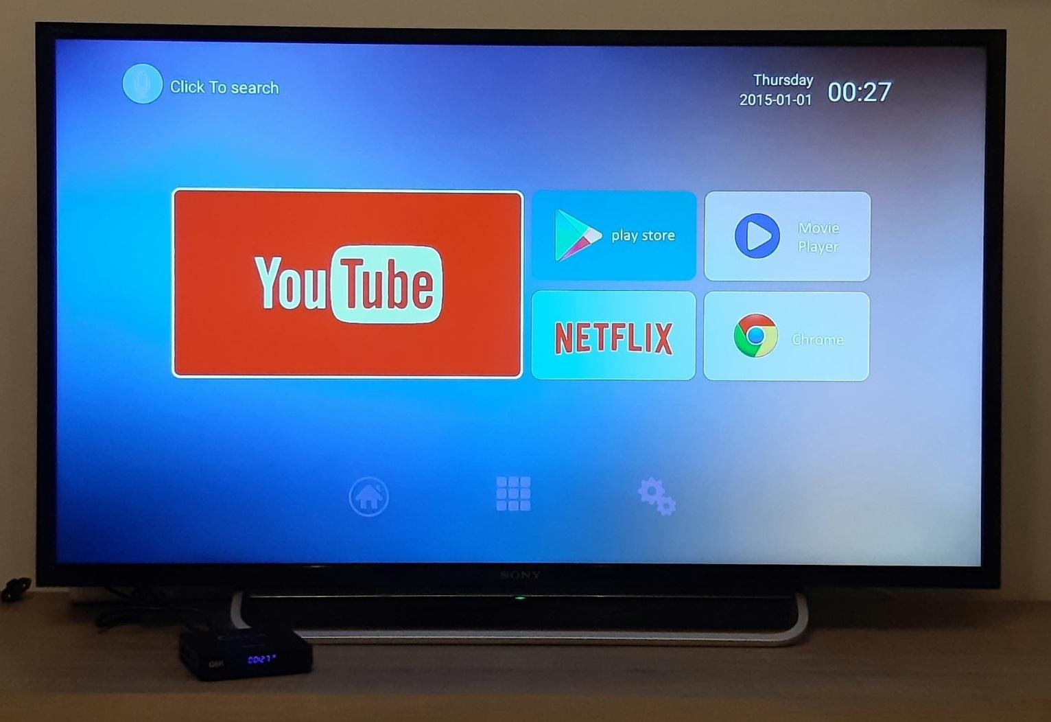 Gadget mou TV BOX