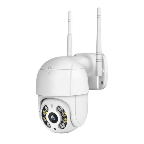 Outdoor WiFi IP Camera Q905 1080P H.264 PTZ Dome Mine Size Camera with Two Way Audio and Motion Detection - iCSee APP