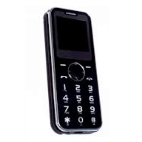 Mini Mobile Wireless Dialer Phone A1 Black with camera