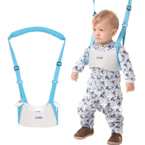 Zhengyuebaobao Moon Walk Basket Type Toddler Baby Belt A-808