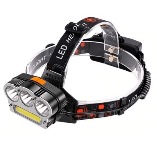 Led headlight T6 lamp head lantern headlight Battery Rechargeable