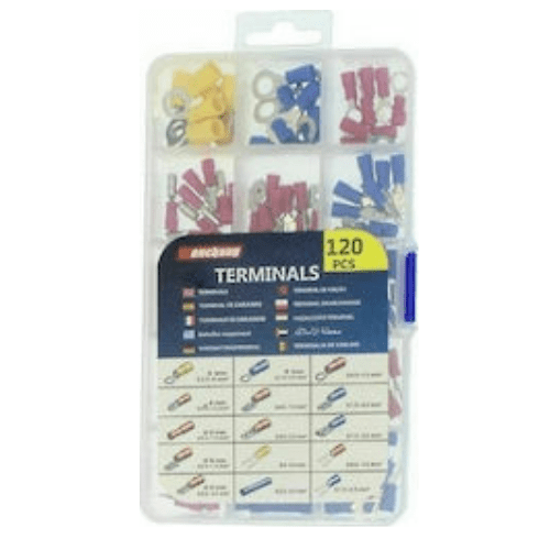 Set of TERMINALS 120 pieces of 0.5 mm 0 - 6,0 mm² Wenchang