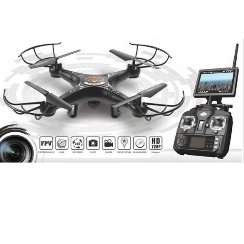 Quadcopter with Built-in Camera KOOME K300-C (black)