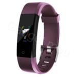 Weatherproof Smart band Fitness Tracker 115Plus Purple