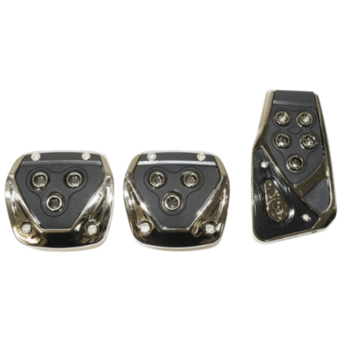 3 Pieces Pedals Kit Generic Non-Slip Racing Sport for Manual Car Pedal Covers Set – OEM CS-375