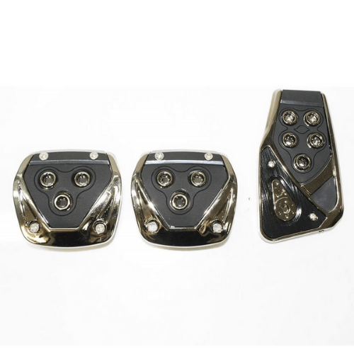 3 Pieces Pedals Kit Generic Non-Slip Racing Sport for Manual Car Pedal Covers Set - OEM CS-375