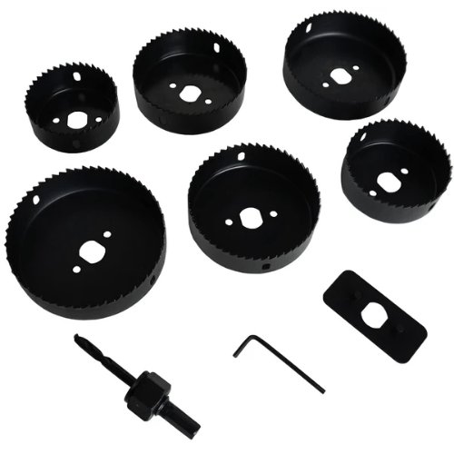 9 Piece Holesaw Set Downlight Installation Kit - HSK-9689
