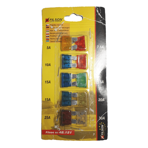 Common Car Fuse Set - FILSON 48151