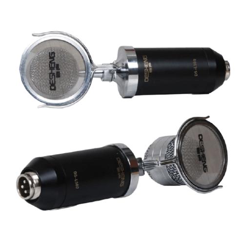 DESHENG DS-L500 Mic Kit Condenser Microphone with Adjustable Mic Suspension Scissor Arm, Shock Mount and Pop Filter - DESHENG DS-L500
