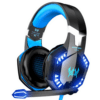 Gaming Headset, Surround Audio Gaming Headphones with Noise Cancelling Mic, LED Light & Soft Memory Earmuffs - Kotion Each G2000