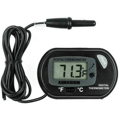 LCD Digital Aquarium Thermometer Fish Tank Terrarium Water Temperature - ZDT-1
