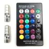 Multicolor RGB LED Interior Lighting STR Car Mate Socket T10 - CARCOB-14215