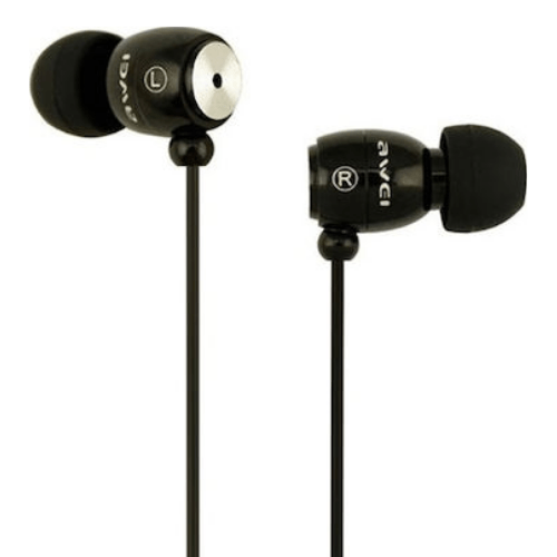 Handsfree Headphones Awei Q38i (black)