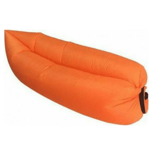 Lazy Bag 15320 Inflatable Mattress & Seat Sunbed -Orange