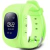 Smartwatch Hello Q50, GPS tracker + SOS call for Kids, Anti-Lost Monitoring, Green