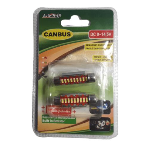 Super Brightness LED Canbus 10x41mm - Auto-HD CB-9145
