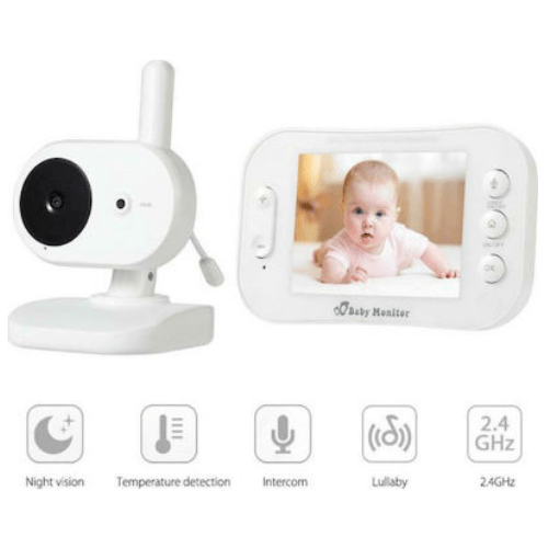 Wireless baby exposed access with SP852 audio and video access