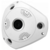 3D Panoramic Security Camera, 360 Degree Range, with Wi-Fi and operation from Smartphone, VR Cam Jortan VR3D-T