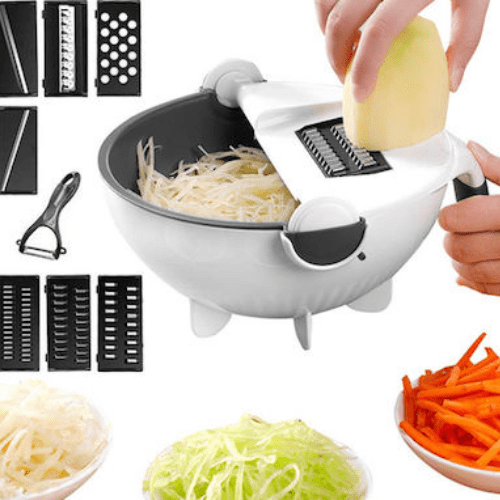 Wet Basket Vegetable Cutter Multi-functional Vegetables Chopper