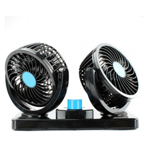 Dual Car Fan With Independent Rotation - Mitchell HX-T304