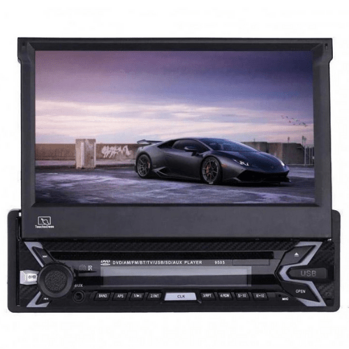 Multimedia Player 9505 Android DVD 7 Inch TFT 1 DIN Screen with DVD & Detachable Front