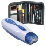 Wizz It Electric Hair Removal Tool with Free Manicure Set - As Seen On TV