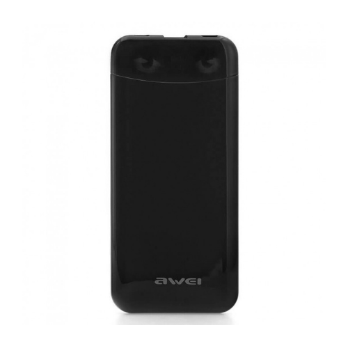 Power Bank 10000 MAh AWEI P68K- Black