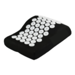 Acupuncture Pillow for Neck Pain Relief Treatment- Black