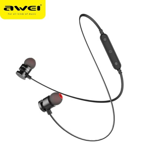 Bluetooth 4.2 Magnetic sports Bluetooth Headphones Awei B922BL
