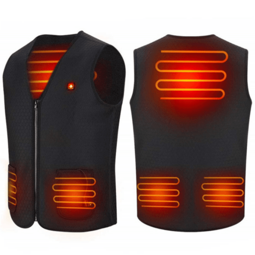 Electric Heated Jacket USB Charge, Electric Heated Vest Size M