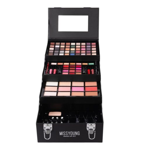 Professional Makeup Case And Care Accessories 94 Pieces - Miss Young Make Up Kit
