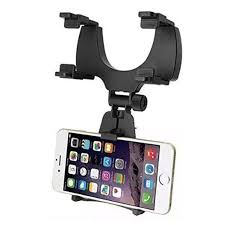 Universal Car Rear View Mirror Mobile Mount