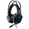Vibrate Luminous Gaming PC Headphones Soyto SY850MV - Black