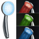 Shower Phone with LED Lights (RGB) depending on the temperature of the water