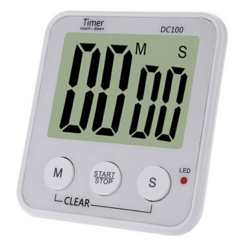 Portable Large LCD Display Count Down Up Clock /Digital Timer Alarm Clock DC100