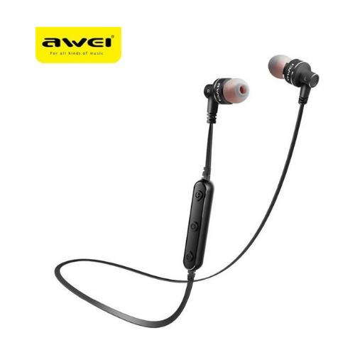 Wireless Sports Bluetooth Earphones Awei A990BL -Black