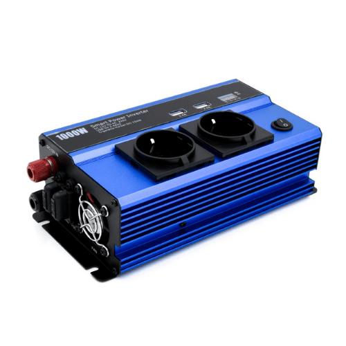 Smart Car Power Converter 1000W 12V 220V Andowl QY-7011