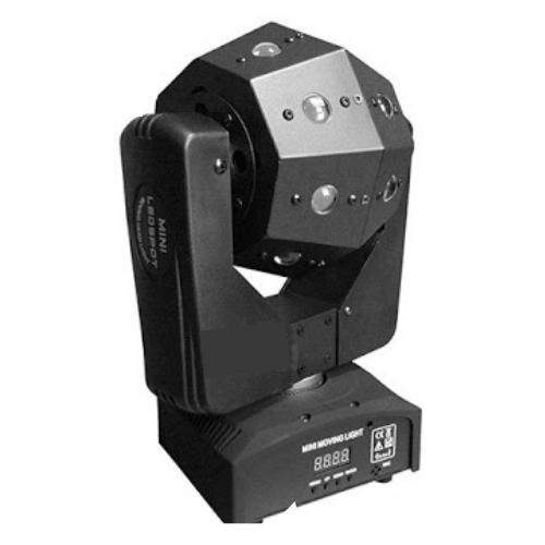 LED Photo-rhythmic 16pcs Mini Moving Head RGBW DMX 512
