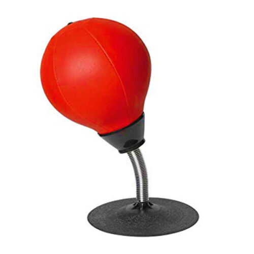 Stress Reliever Desktop Boxing Speed Punching Ball with Pump