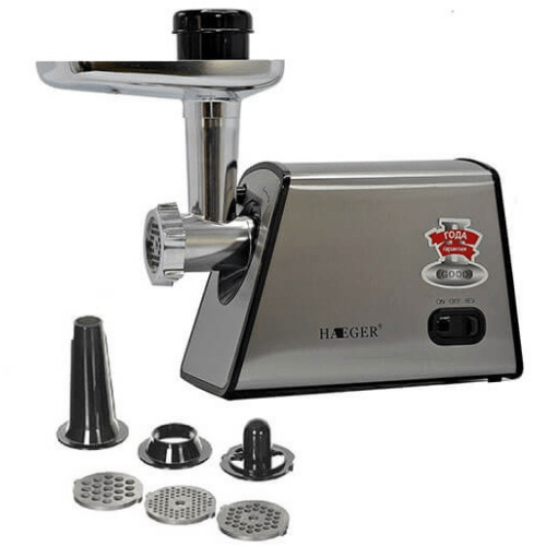 Multi-Function Meat Grinder Electric HAEGER HG-3378 Gadget mou